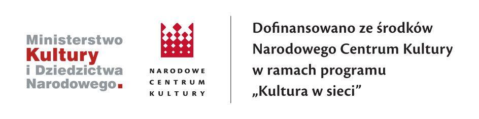 Informacja o dofinansowaniu ze środków Narodowego Centrum Kultury