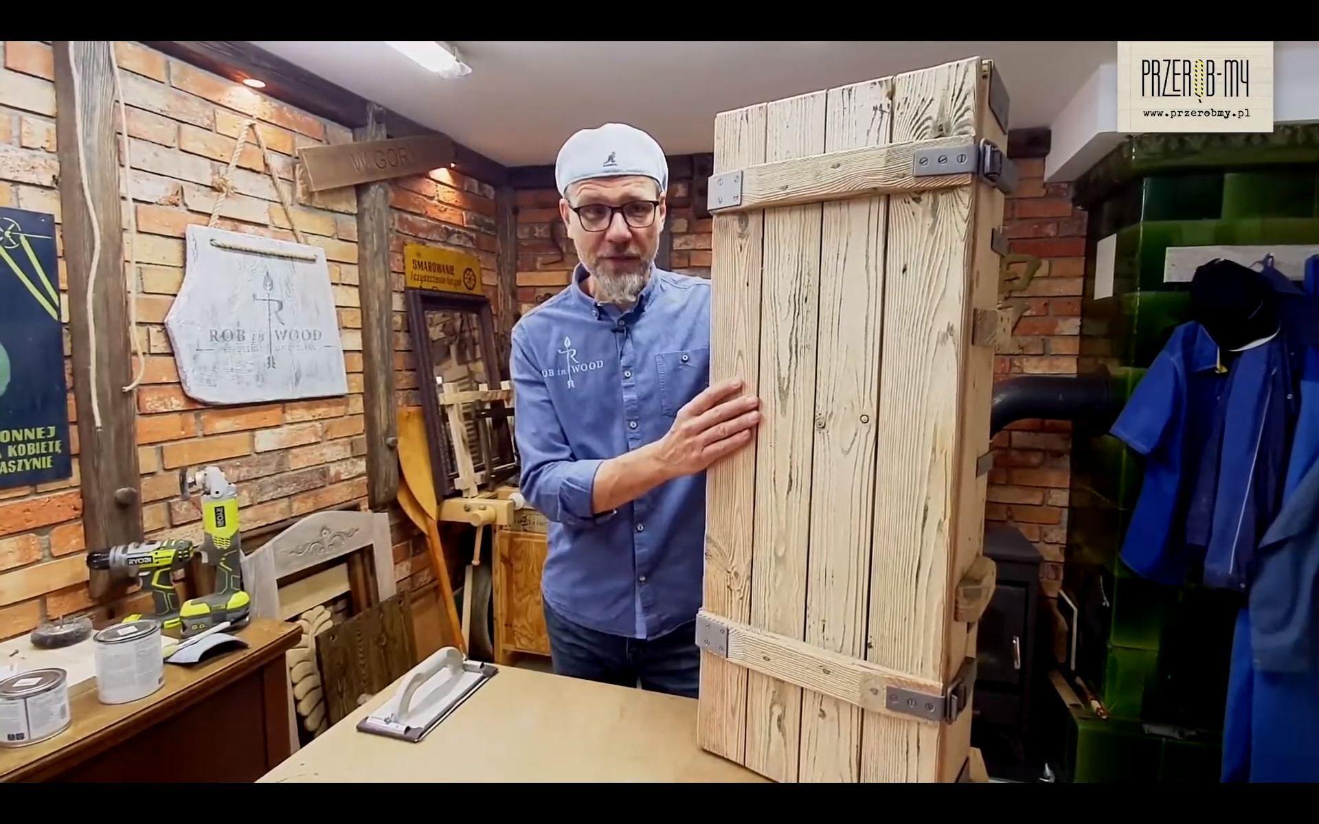 techniki postarzania i przecierek na drewnie